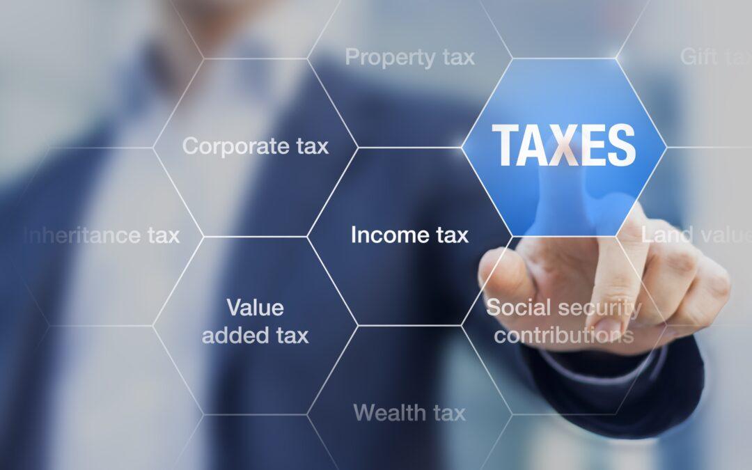 Skatte- og bidragssatser 2021